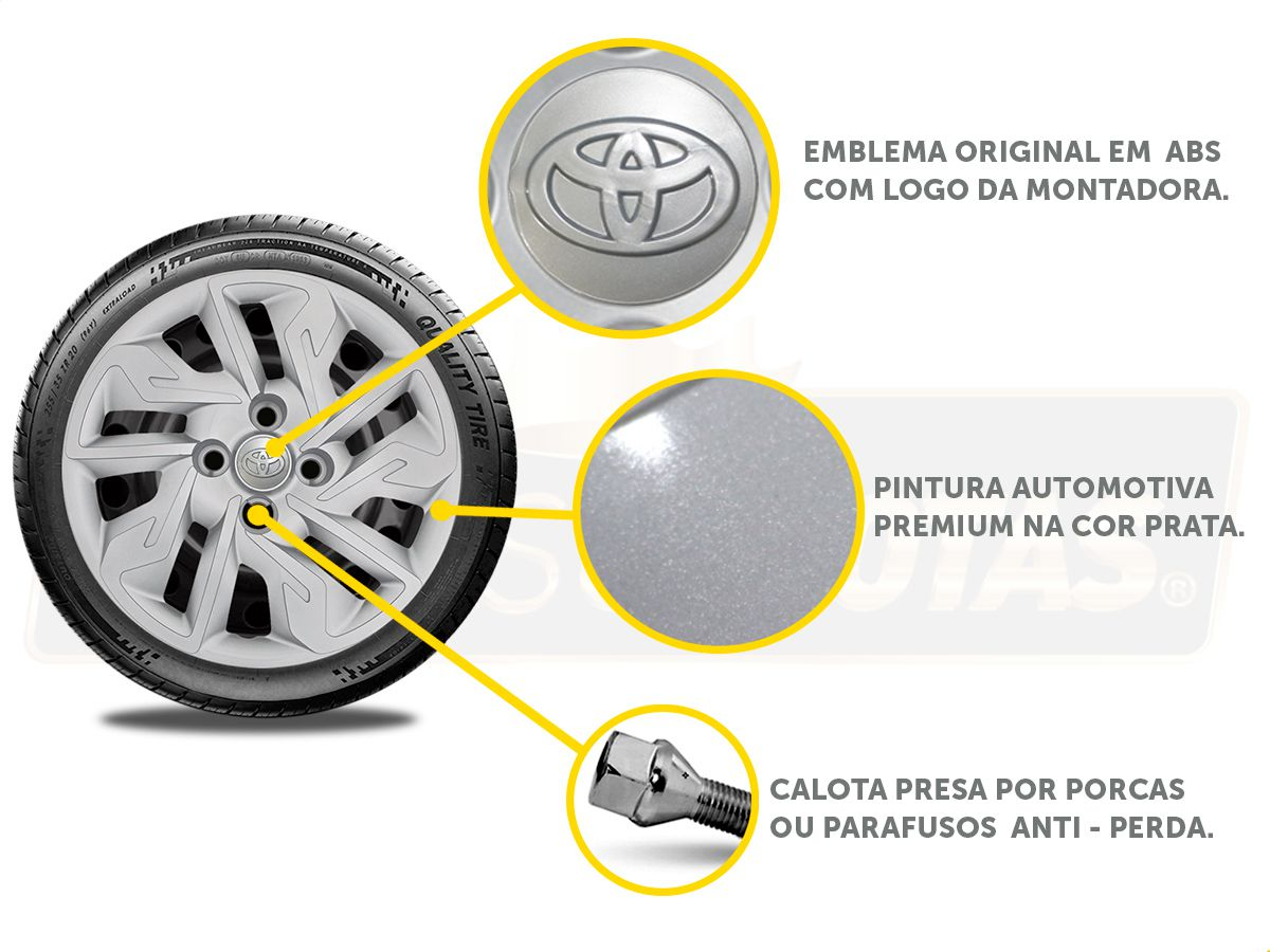 Calota Aro 14 Toyota Etios Sedan Hatch G292E
