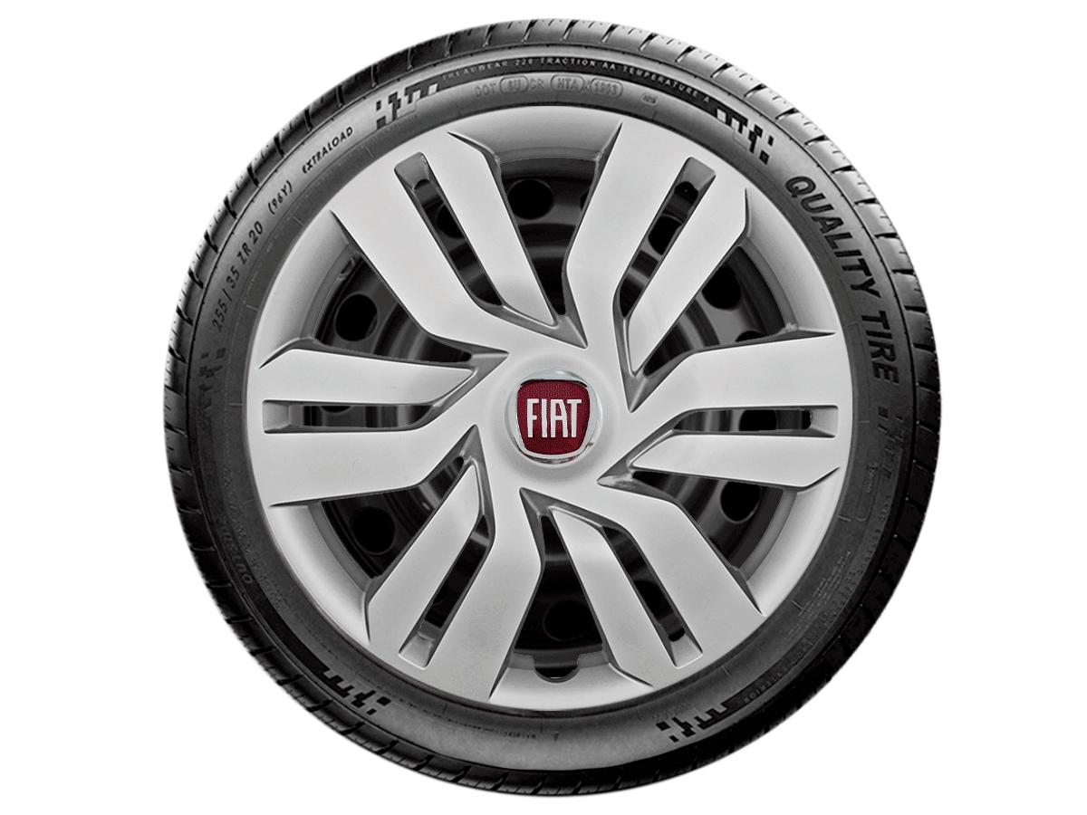 Calota Aro 15 Fiat Palio Grand Siena Argo 2017 2019 G120E