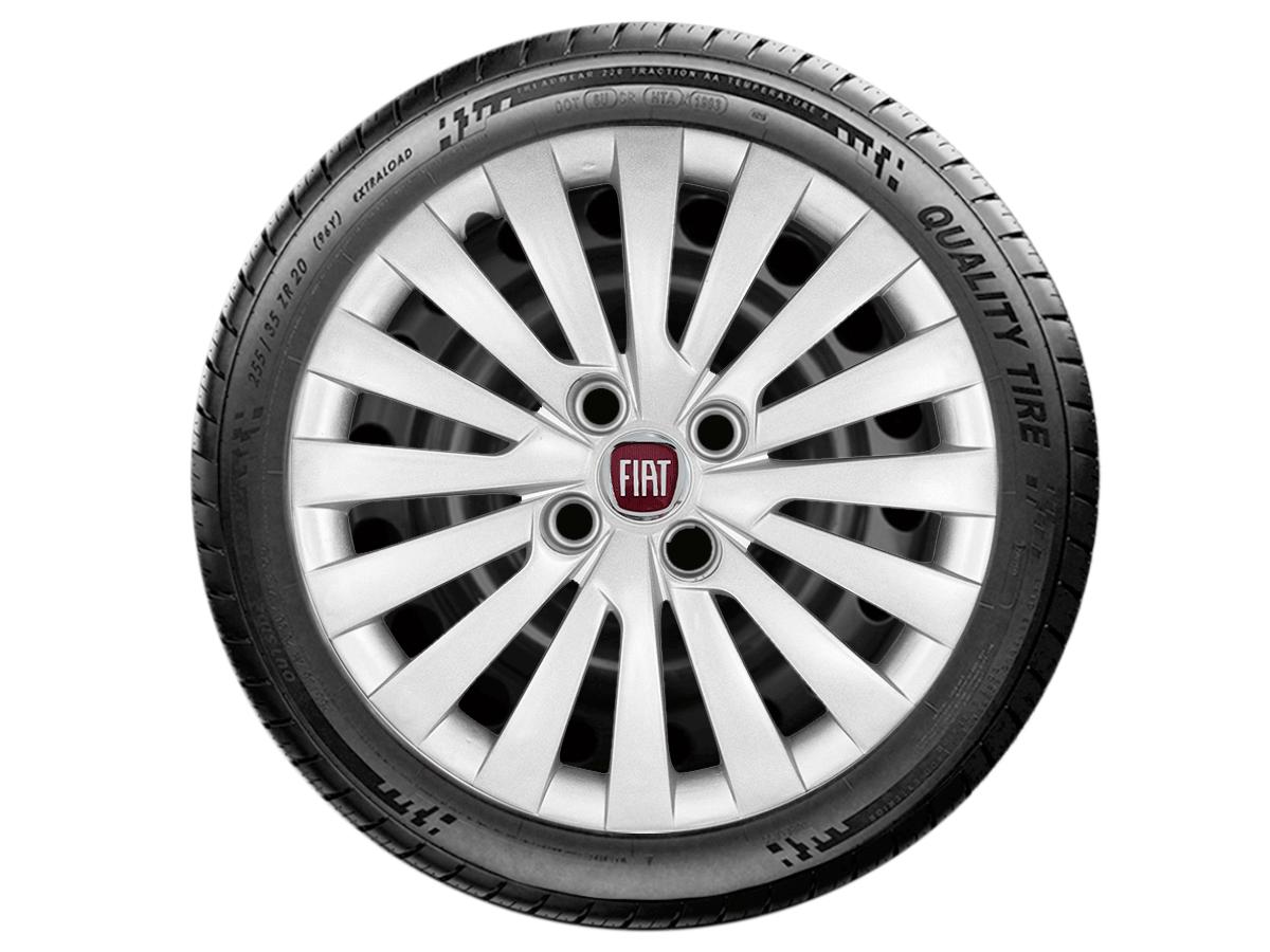 Calota Aro 15 Fiat Palio Grand Siena Argo 2017 2019 G242E