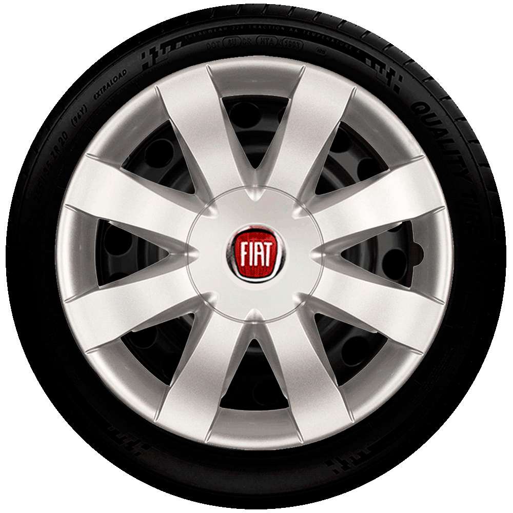 Calota Aro 15 Fiat Punto Idea Linea Grand Siena Palio Uno Fire G875