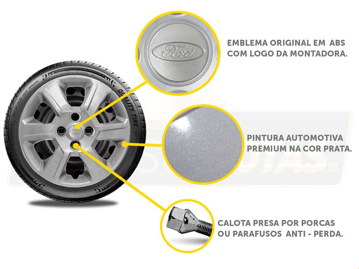 Calota Aro 15 Ford Ka Hatch Sedan 2016 2019 G084E