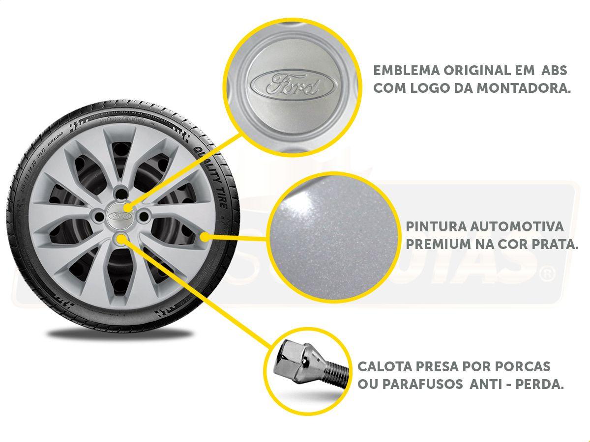 Calota Aro 15 Ford Ka Hatch Sedan 2016 2019 G375E