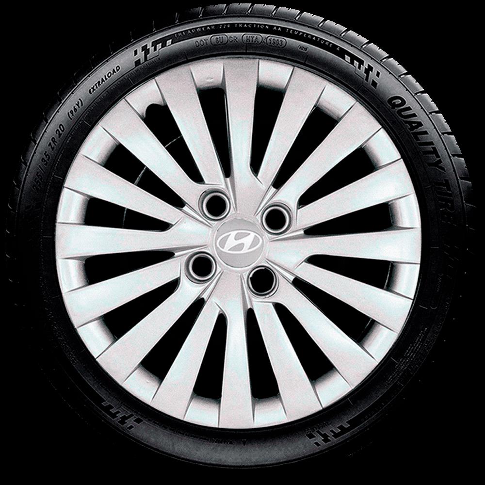 Calota Aro 15 Hyundai Novo Hb20 Hb20S 2018 2019 G242