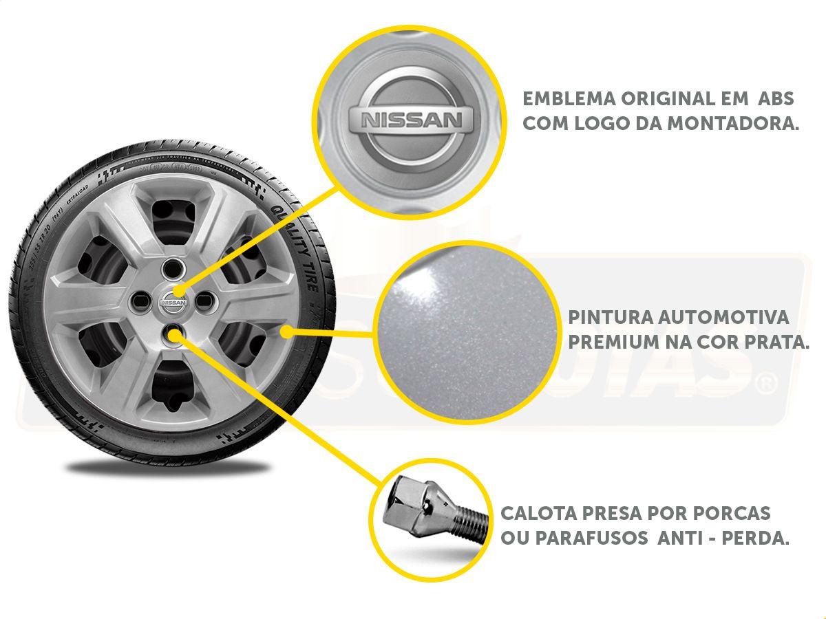 Calota Aro 15 Nissan March Versa 2013 2020 G084E