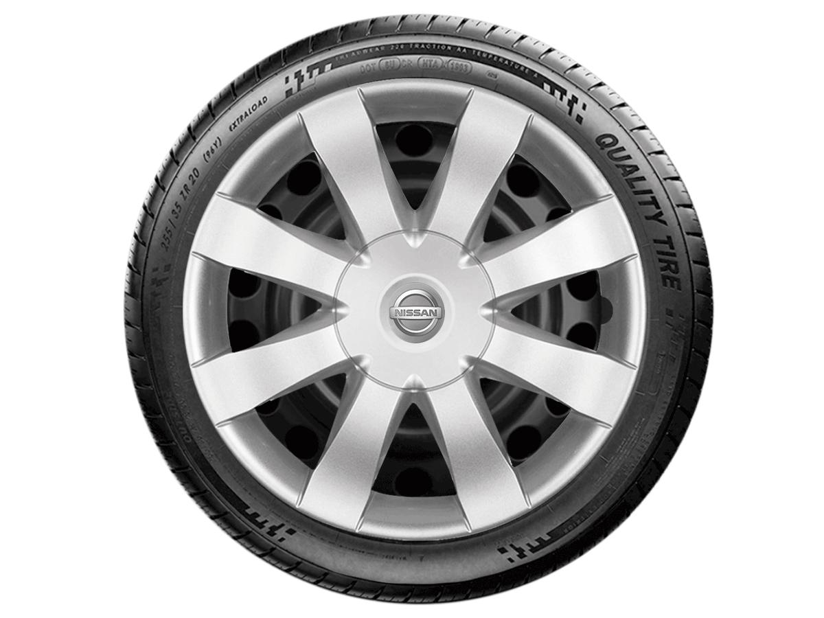 Calota Aro 15 Nissan March Versa 2013 2020 G875E