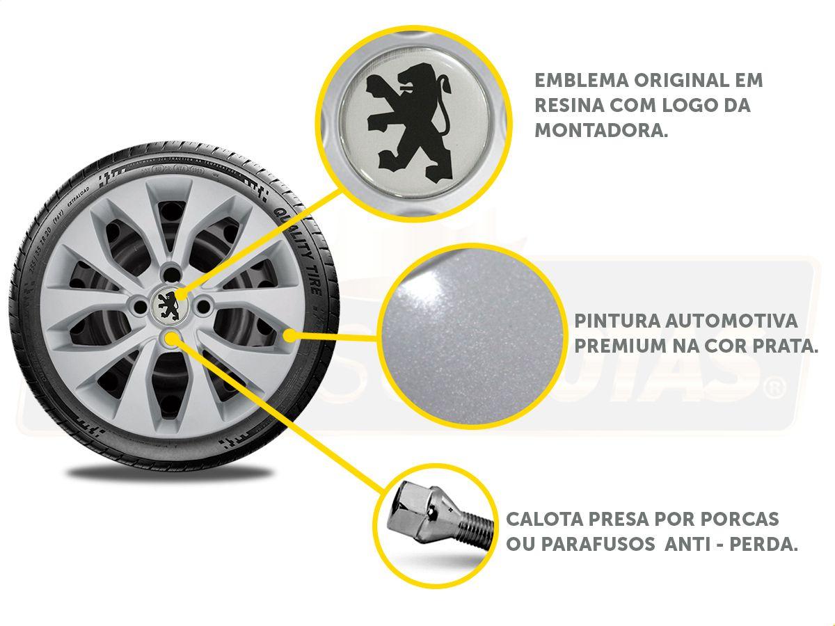 Calota Aro 15 Peugeot 208 307 306 206 207 G375E