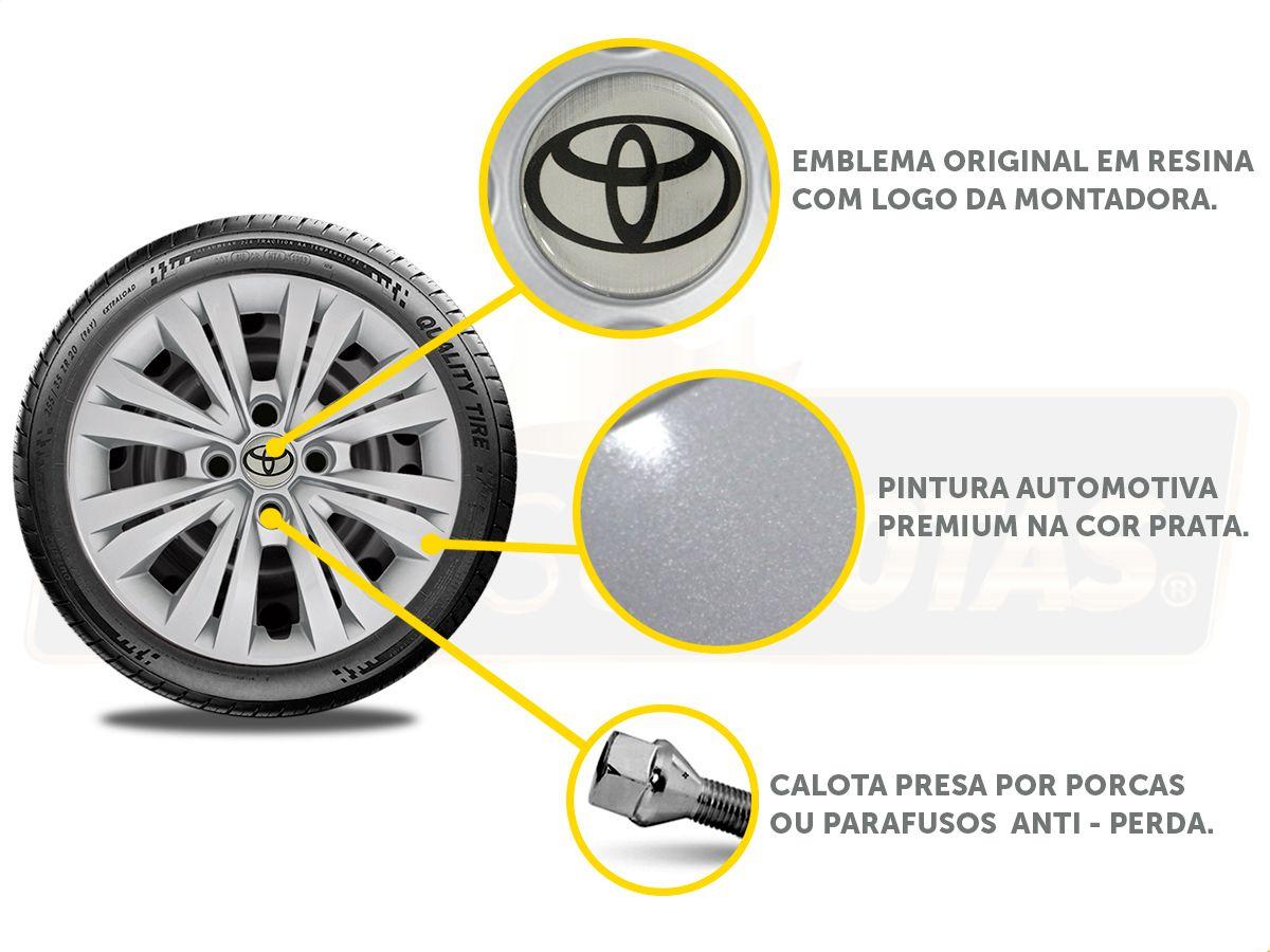 Calota Aro 15 Toyota Etios Sedan Hatch G246E