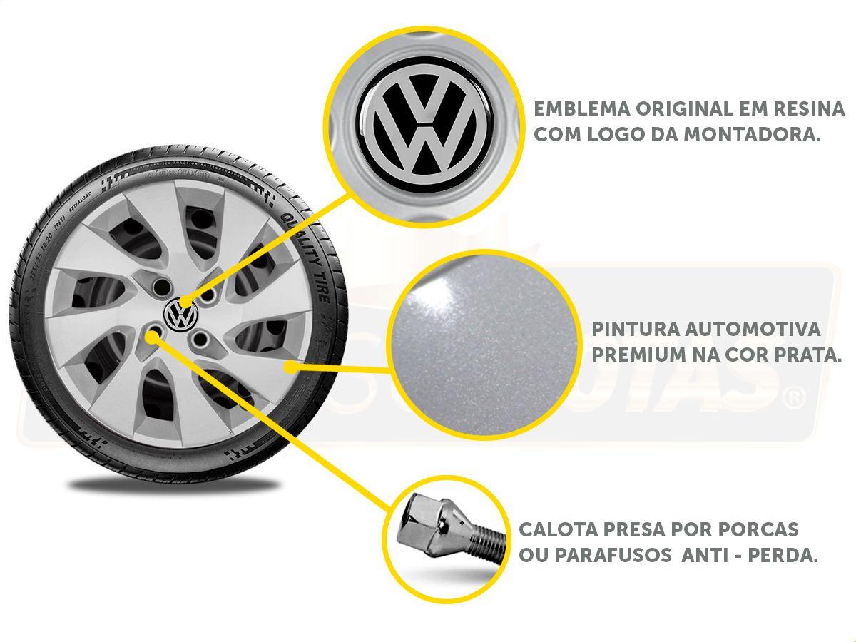 Calota Aro 15 Volkswagen Gol Voyage G3 G4 G5 Parati G195E