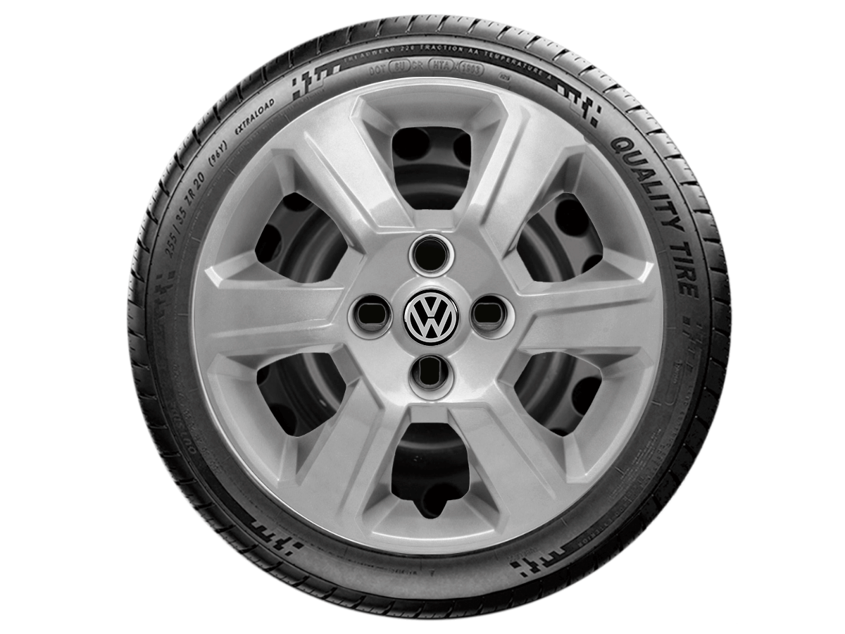 Calota Aro 15 Volkswagen Gol Voyage G4 G5 Parati G084E