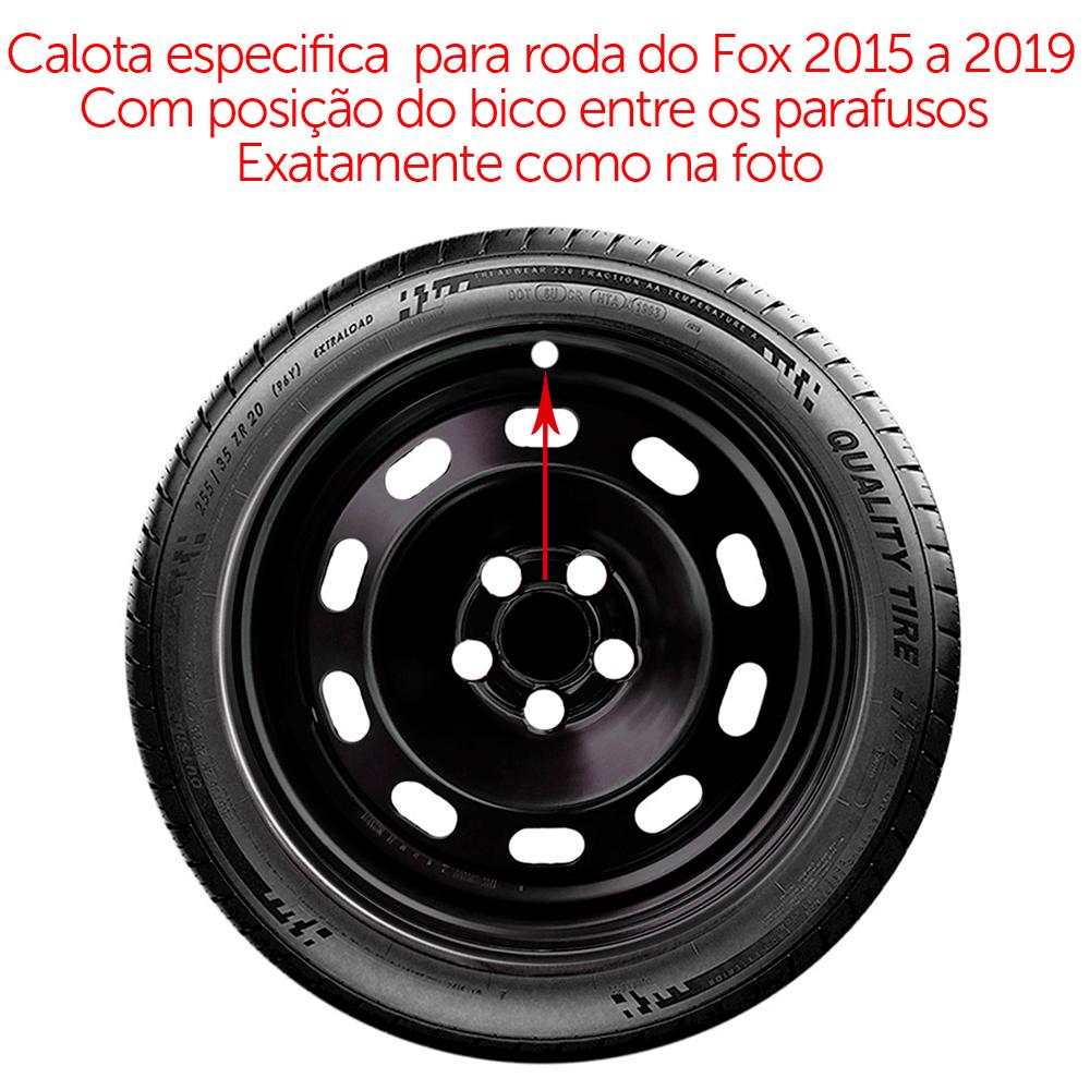 Calota Aro 15 Volkswagen Novo Fox Spacefox 2015 A 2019 G147