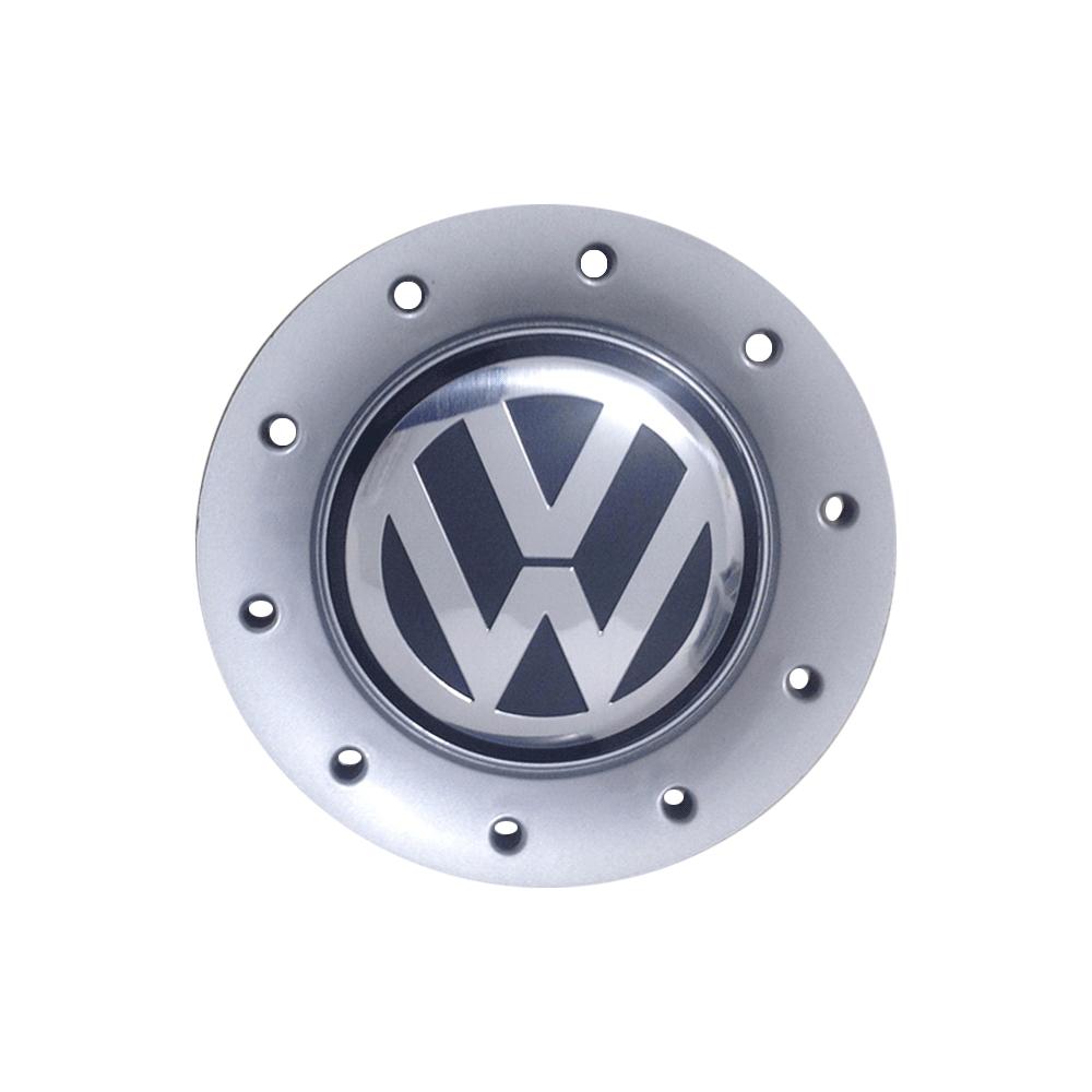 Calota Centro Miolo De Roda Volkswagen Polo 2002 Prata
