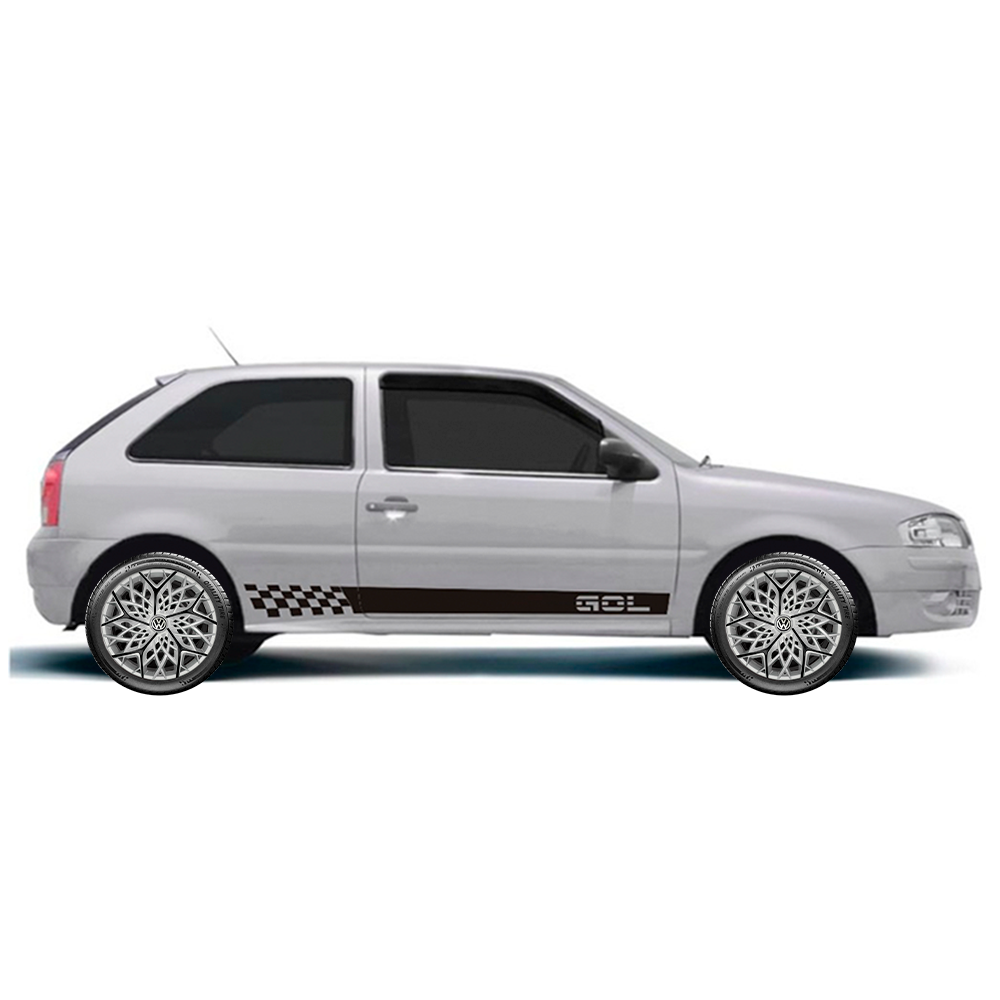 Calota Esportiva Aro 13 Elitte Universal Prata Com Preto Moove E3052