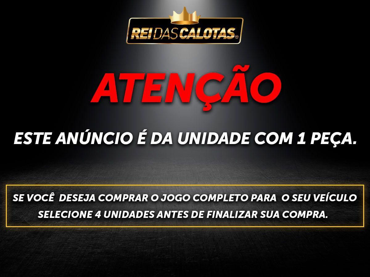 Calota Esportiva Aro 13 Elitte Universal Preto Com Cromado E2019