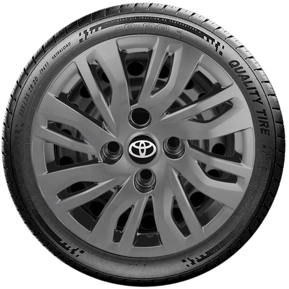 Calota Grafite Aro 14 Toyota Etios 2014 2015 2016 2017 G344Gft