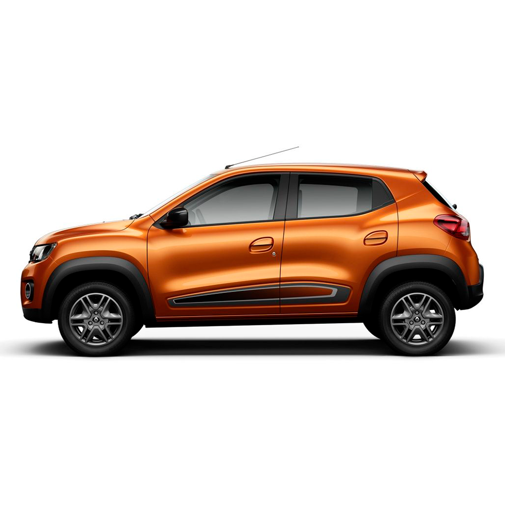 Calota Grafite Jogo 4Pçs Renault Kwid 2019 2020 Aro 14 G877Gftj  - Rei das Calotas