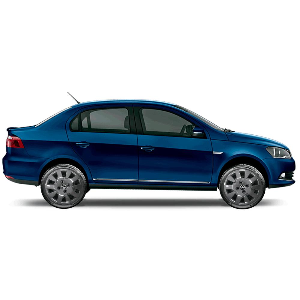 Calota Grafite Jogo 4Pçs Volkswagen Gol G6 G7 2018 2020 Aro 14 G343Gftj