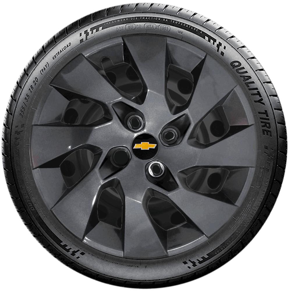 Calota Grafite Aro 14 Chevrolet Onix Prisma Agile Corsa G133Gft