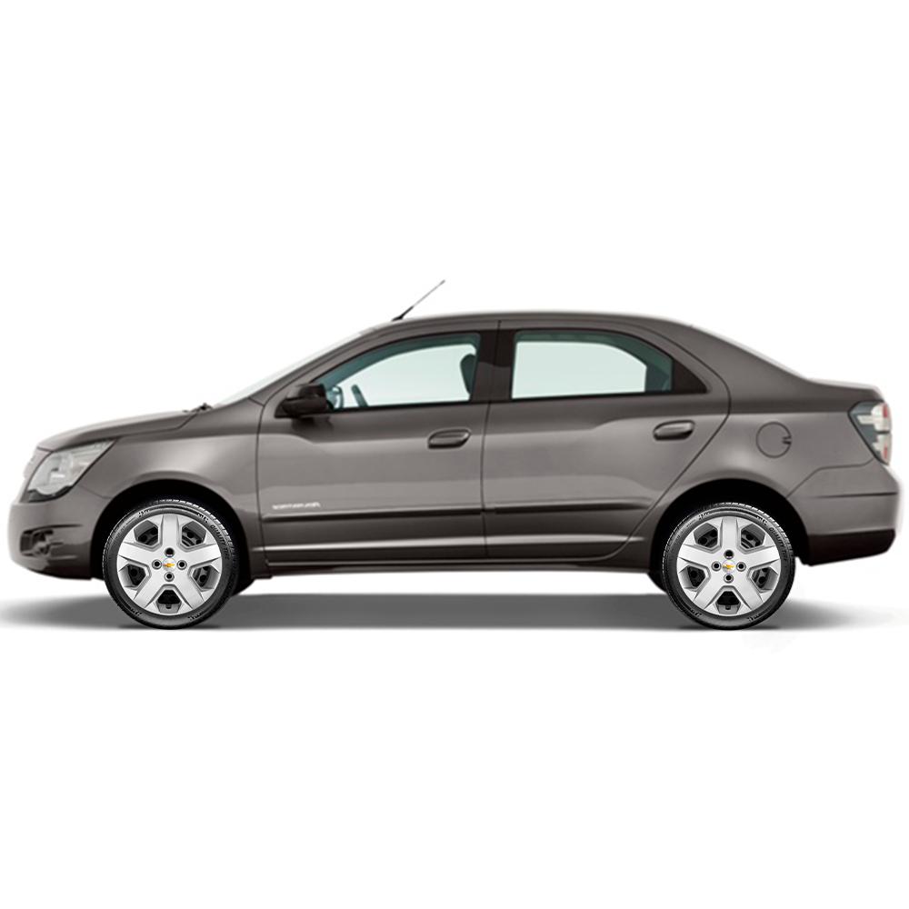 Calota Jogo 4Pçs Chevrolet Agile Onix Prisma Astra Aro 15 G372J