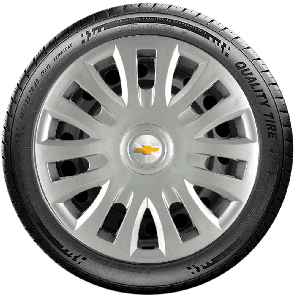 Calota Jogo 4Pçs Chevrolet Corsa Celta Classic Aro 14 G083J