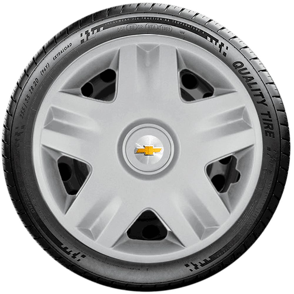 Calota Jogo 4Pçs Chevrolet Corsa Celta Classic Aro 14 G871J