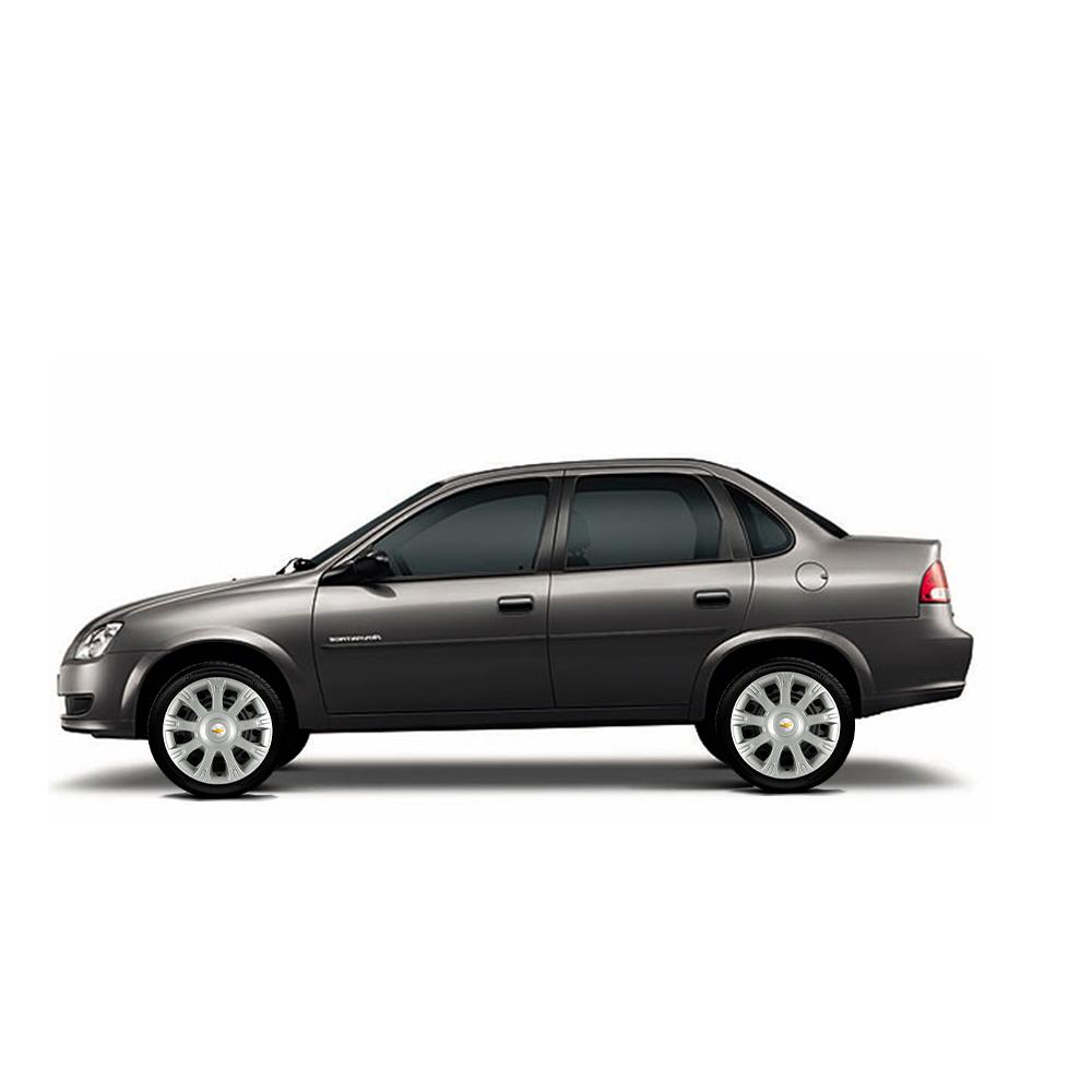 Calota Jogo 4Pçs Chevrolet Corsa Celta Prisma Aro 14 G086J