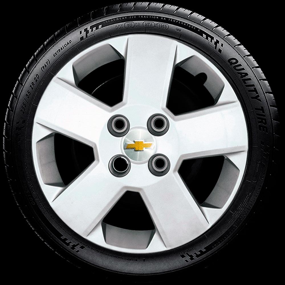 Calota Jogo 4Pçs Chevrolet Corsa Celta Prisma Aro 14 G087J