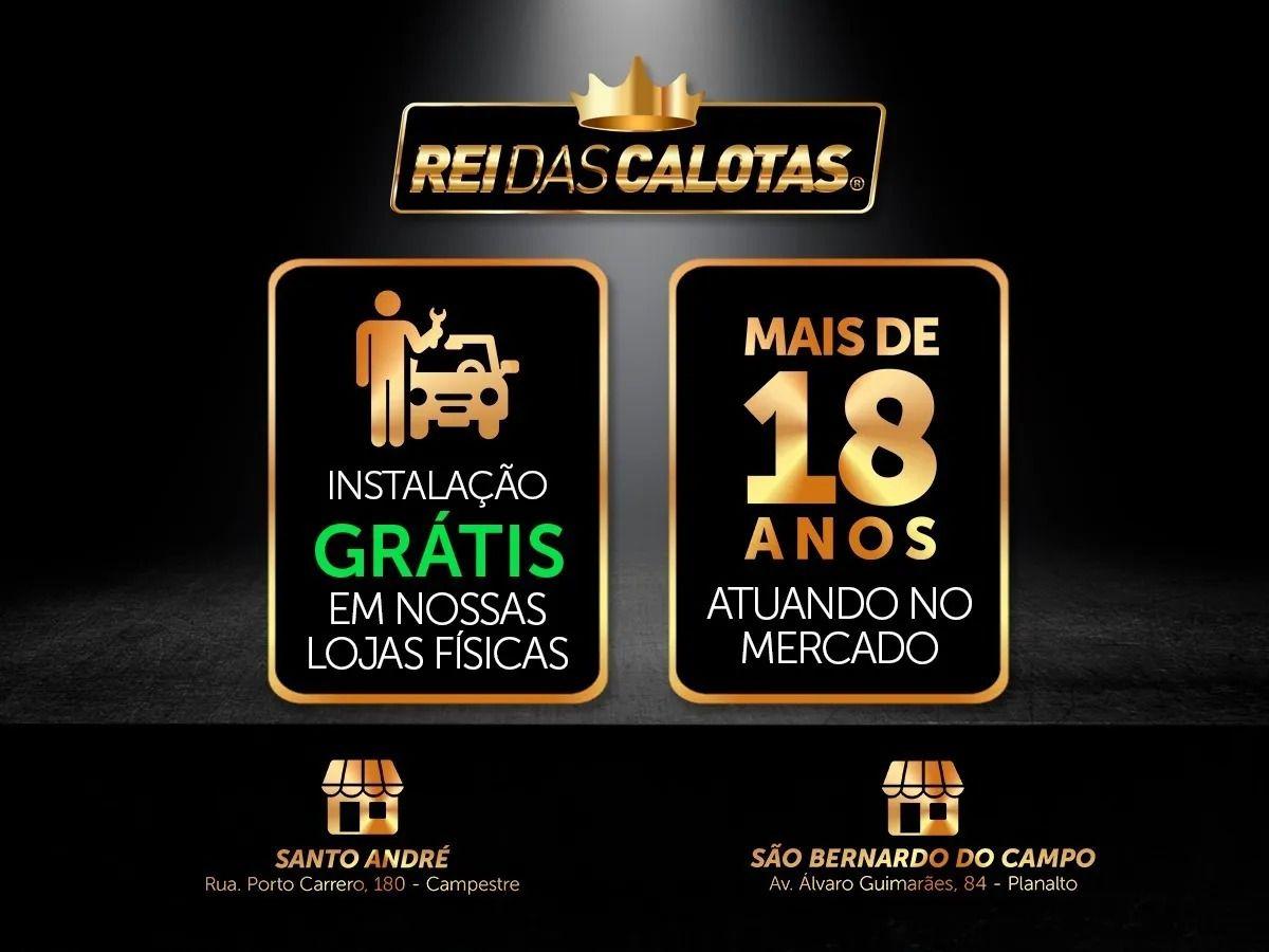 Calota Jogo 4Pçs Chevrolet Onix Novo Prisma Aro 14 G373J