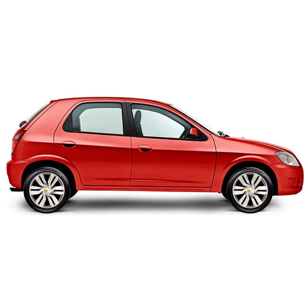 Calota Jogo 4Pçs Chevrolet Spin Meriva Corsa Aro 15 G120J