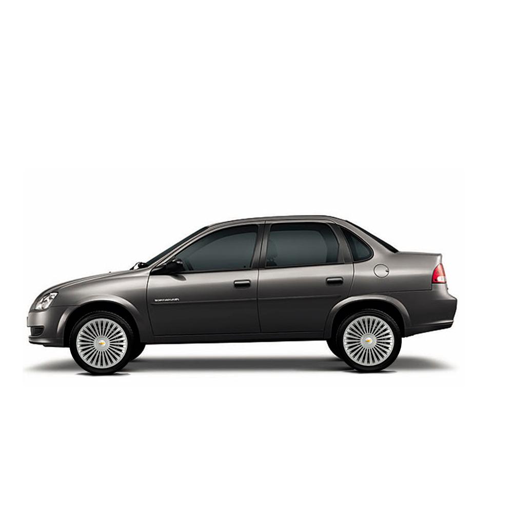 Calota Jogo 4Pçs Chevrolet Spin Meriva Corsa Aro 15 G171J