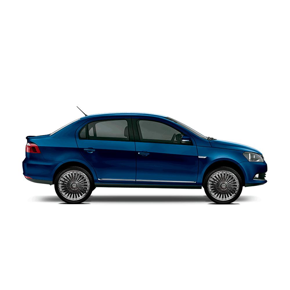 Calota Cromada Jogo 4Pçs Volkswagen Aro 13 G075Chrj