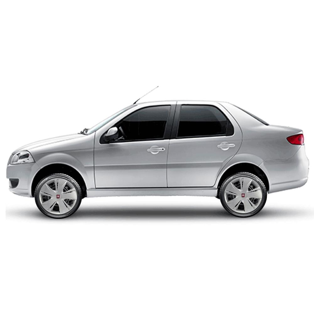 Calota Jogo 4Pçs Fiat Palio Argo Siena Uno Fire Aro 14 G451J