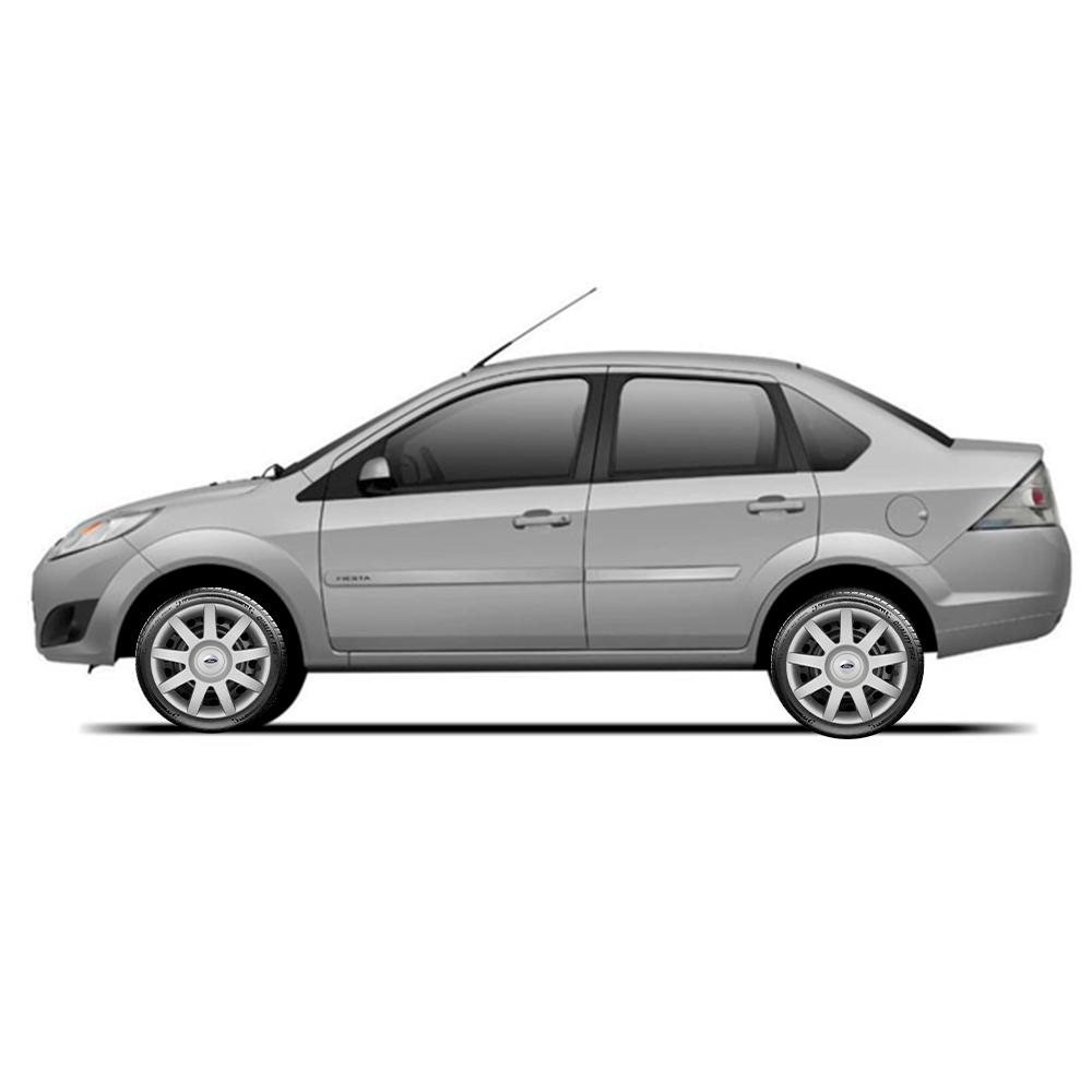 Calota Jogo 4Pçs Ford Fiesta Focus Ka Aro 14 G873J