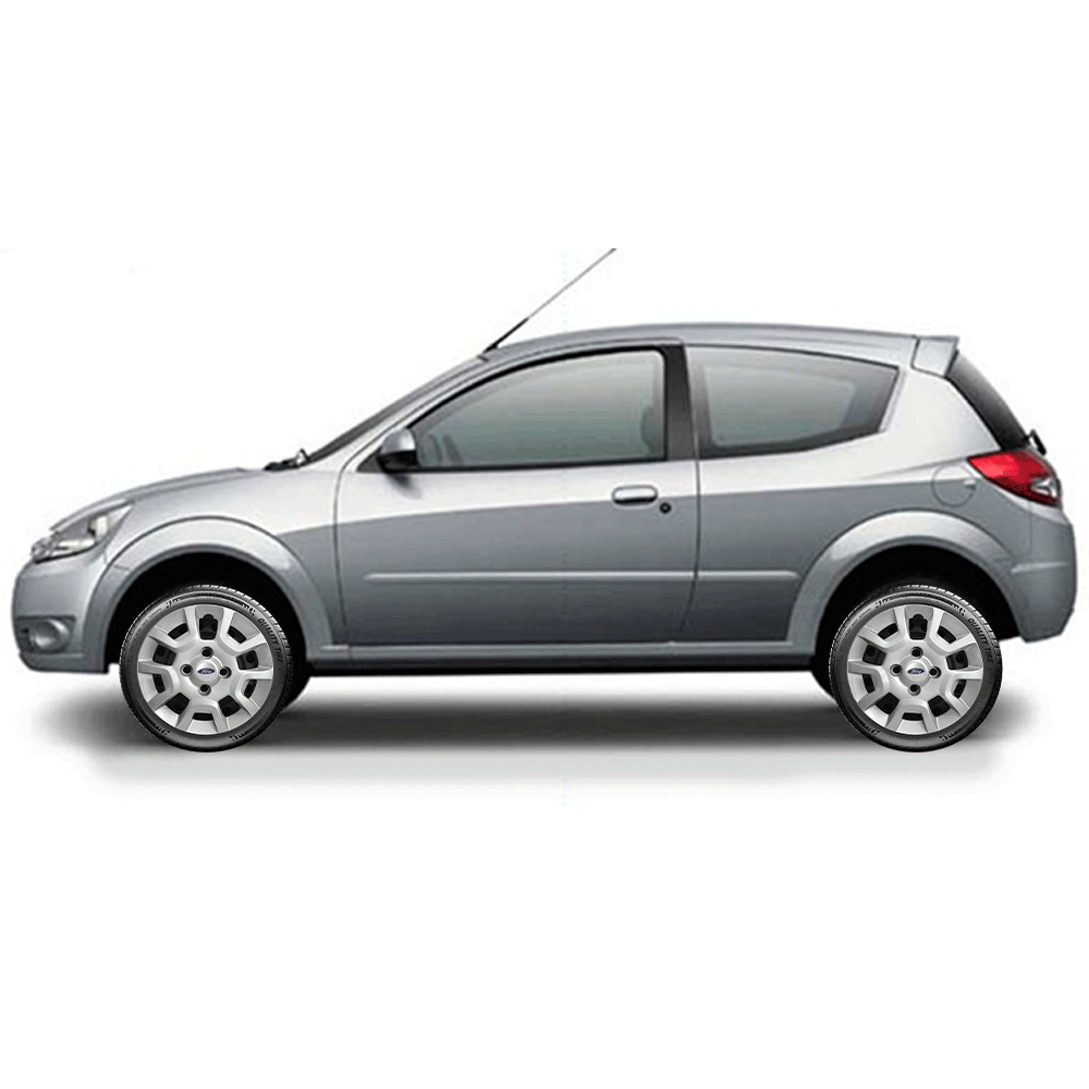 Calota Jogo 4Pçs Ford Fiesta Ká Escort Aro 13 G124J  - Rei das Calotas