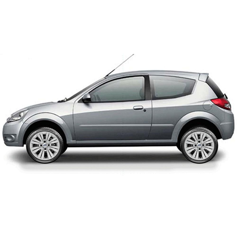 Calota Jogo 4Pçs Ford Fiesta Ka Focus Aro 14 G245J