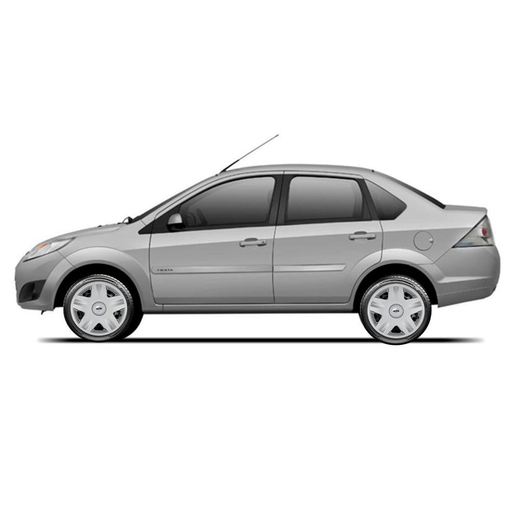 Calota Jogo 4Pçs Ford Fiesta Rocam Focus Ka Aro 14 G871J