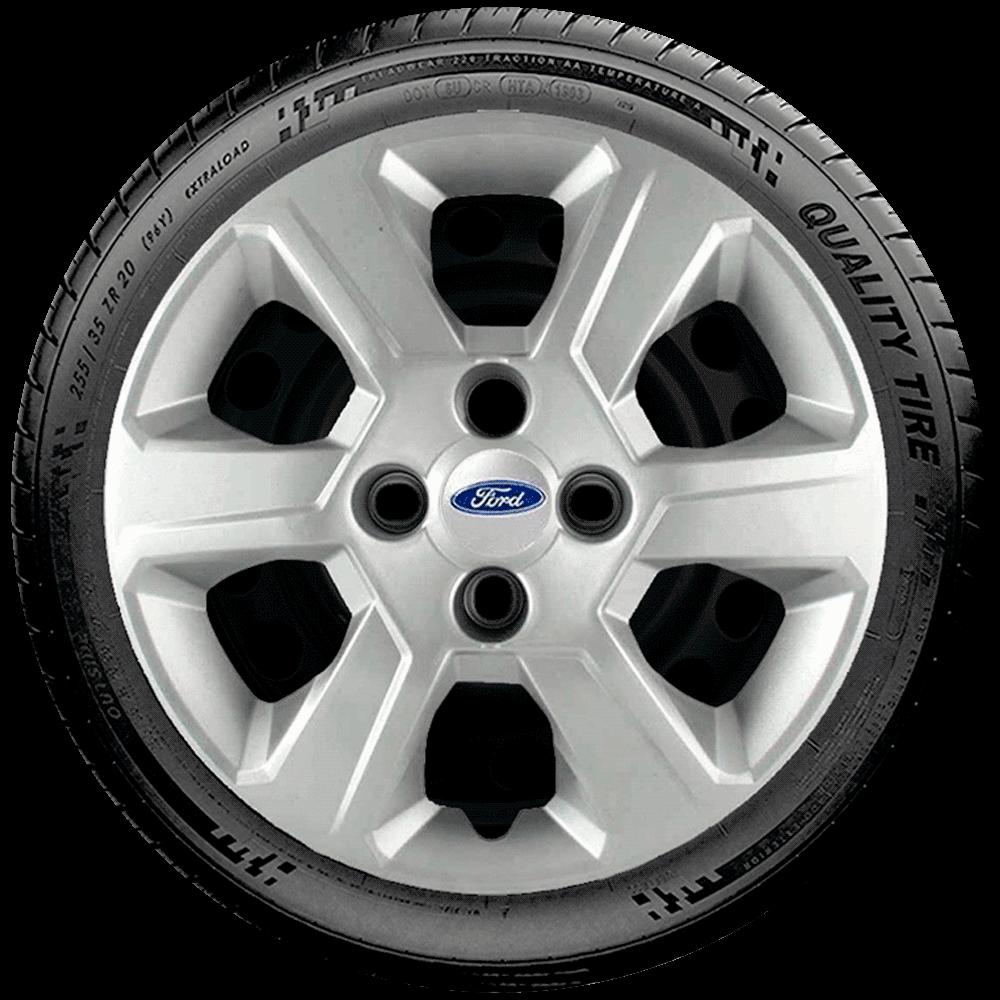 Calota Jogo 4Pçs Ford Ká Fiesta Focus Aro 15 G084J