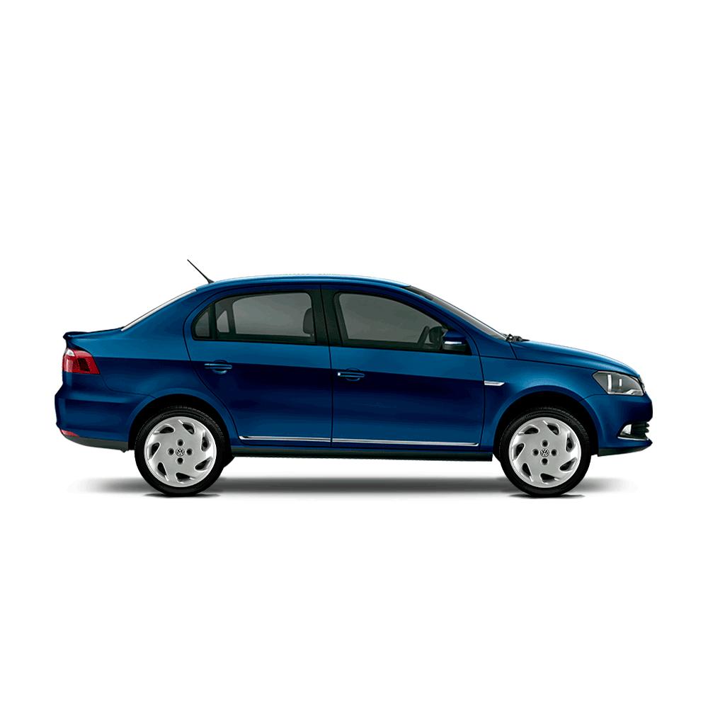Calota Jogo 4Pçs Volkswagen Gol Saveiro Parati G2 G3 G3 Aro 14 G001J