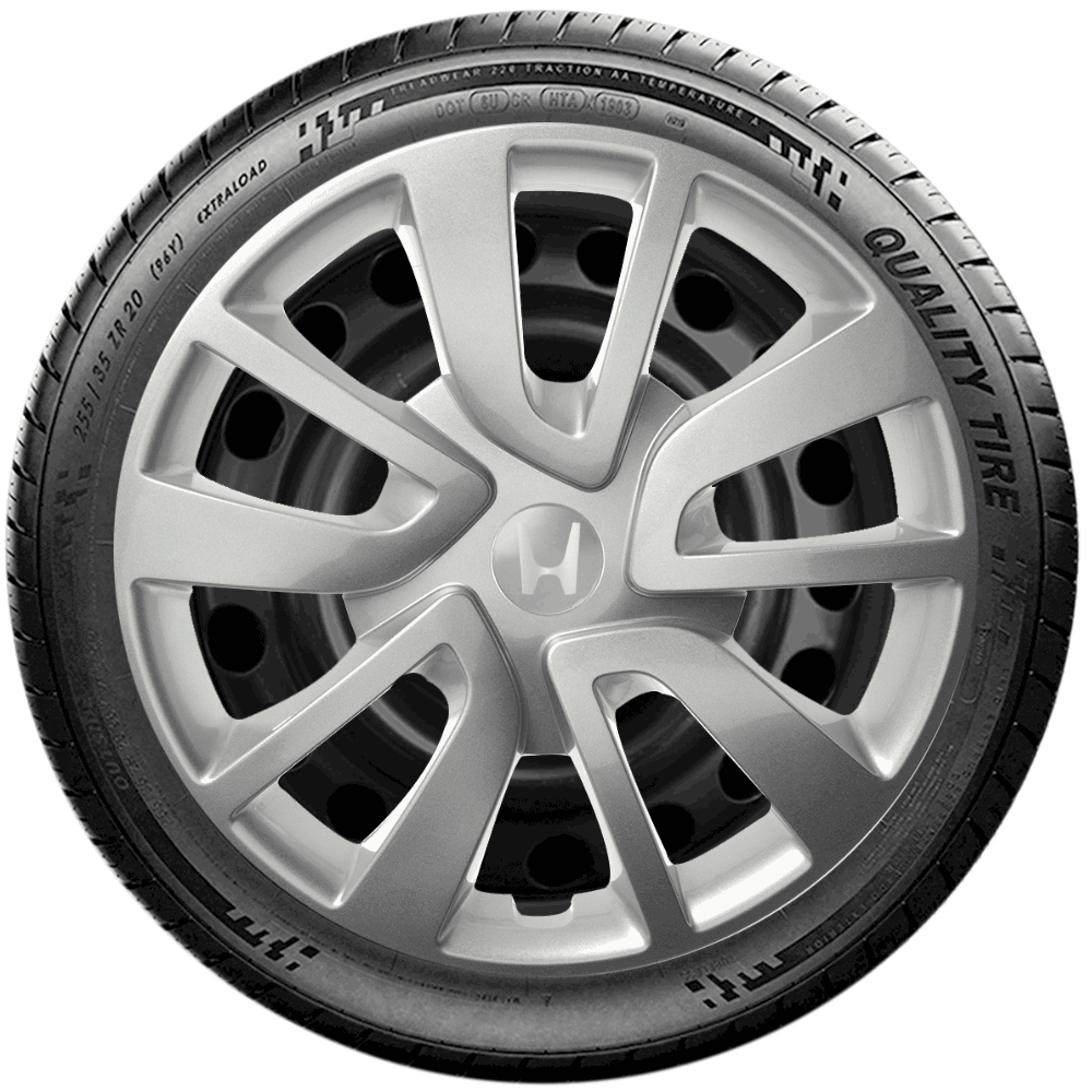 Calota Jogo 4Pçs Honda New Civic New Fit City Aro 15 G869J
