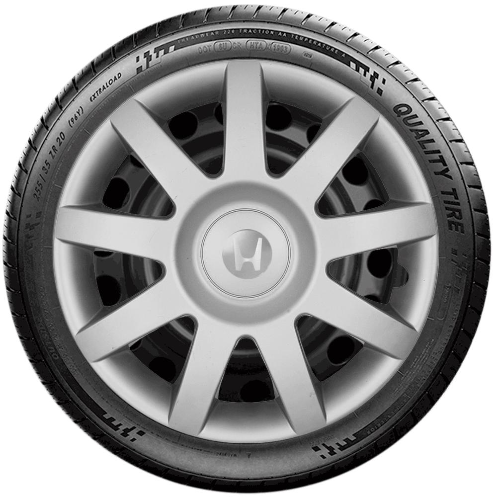 Calota Jogo 4Pçs Honda New Fit New Civic City Aro 14 G873J