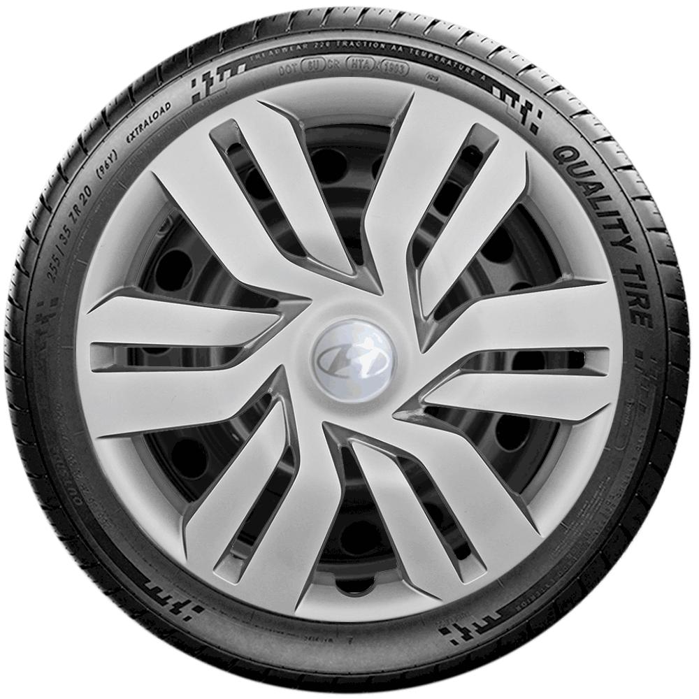 Calota Jogo 4Pçs Hyundai Hb20 Hb20S 2014 A 2019 Aro 15 G120J