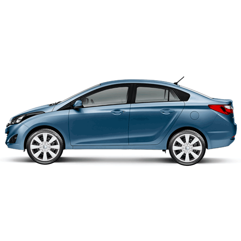 Calota Jogo 4Pçs Hyundai Hb20 Hb20S 2014 A 2019 Aro 15 G460J
