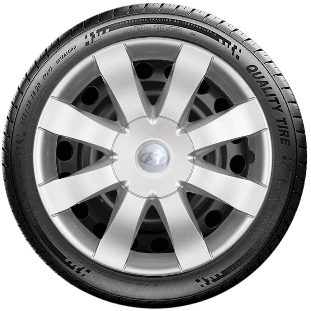 Calota Jogo 4Pçs Hyundai Hb20 Hb20S 2014 A 2019 Aro 15 G875J