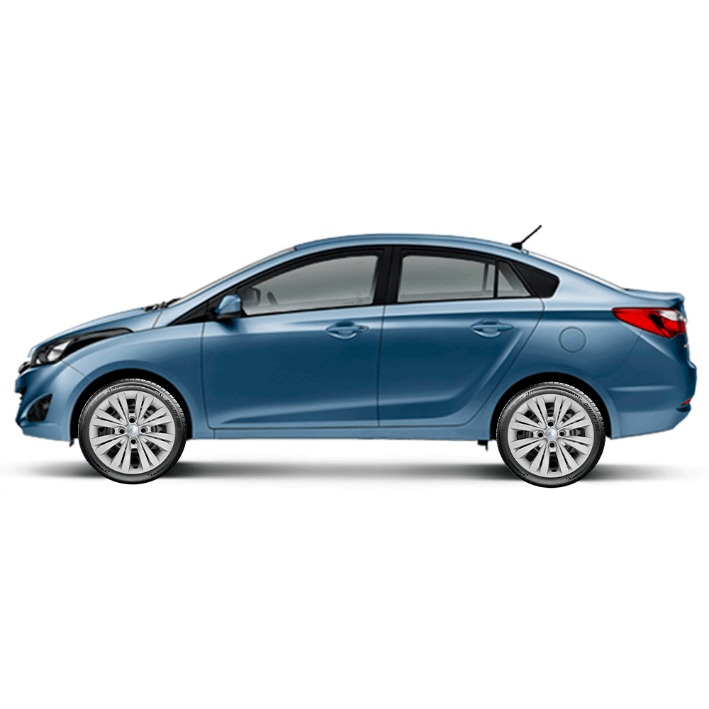Calota Jogo 4Pçs Hyundai Hb20 Hb20S 2014 A 2020 Aro 15 G246J