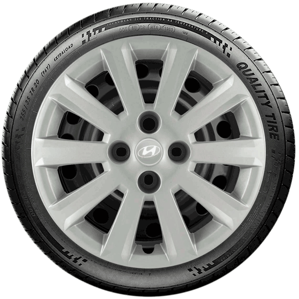 Calota Jogo 4Pçs Hyundai Hb20 Hb20S Aro 15 G018J