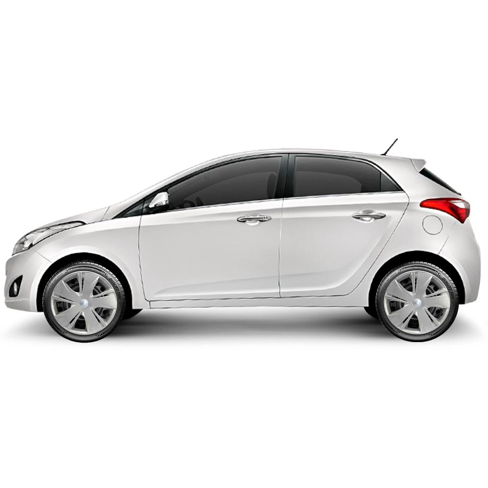 Calota Jogo 4Pçs Hyundai Hb20 Hb20S Hb20X 2014 A 2020 Aro 14 G451J
