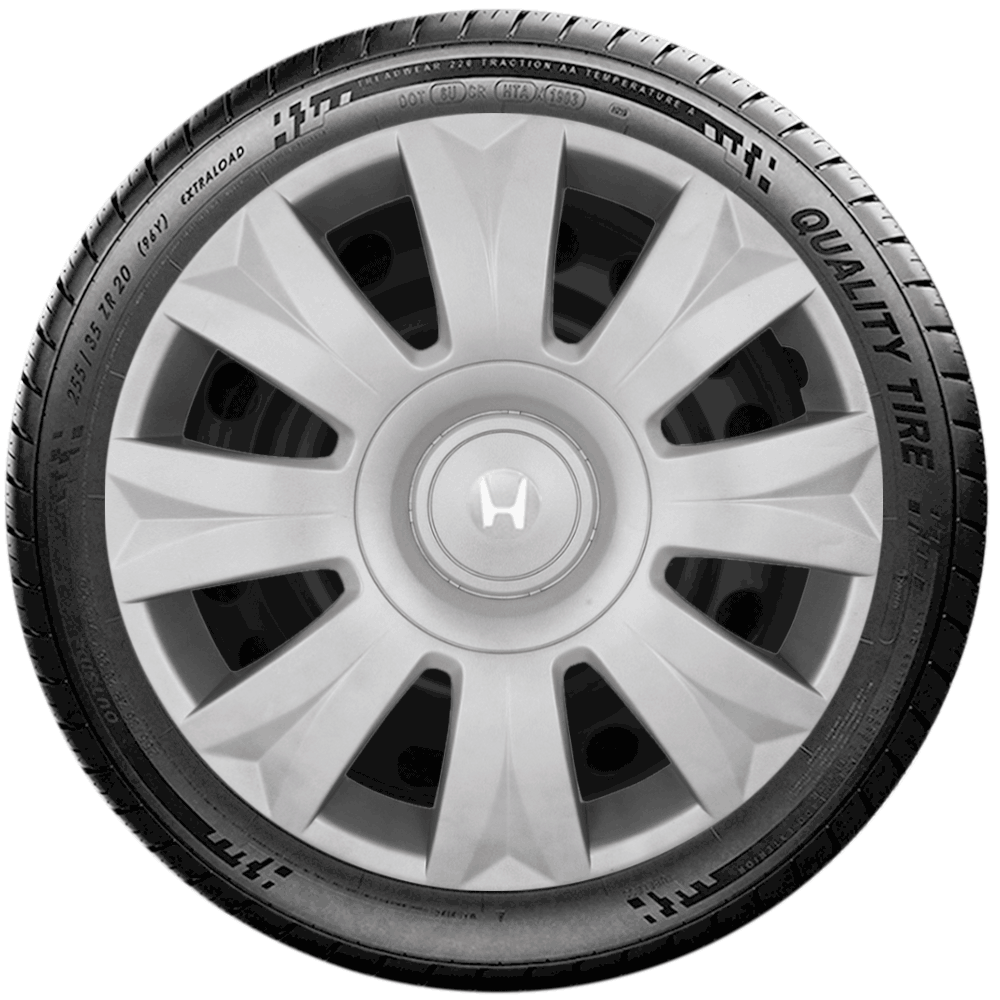 Calota Jogo 4Pçs Honda New Civic New Fit City Aro 15 G169J