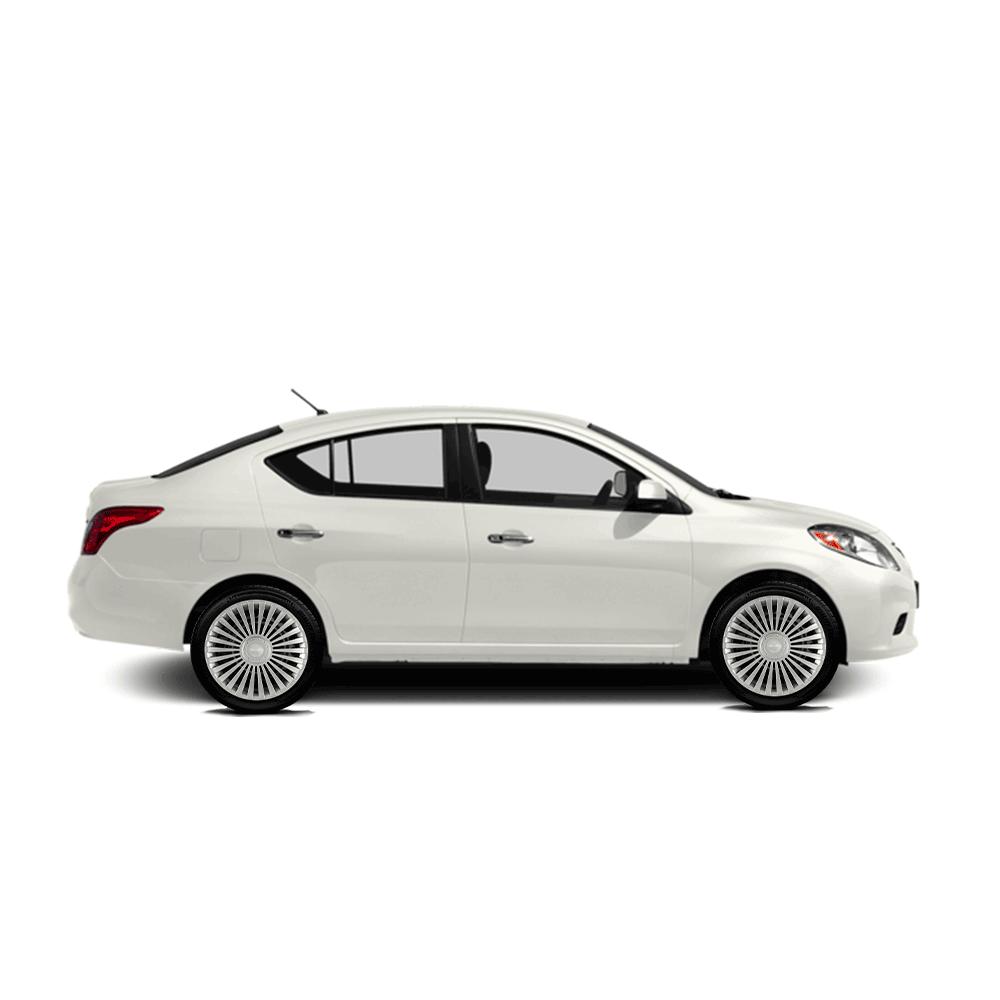 Calota Jogo 4Pçs Nissan March Versa Aro 14 G068J