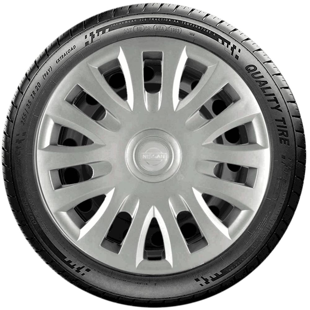 Calota Jogo 4Pçs Nissan March Versa Aro 14 G083J