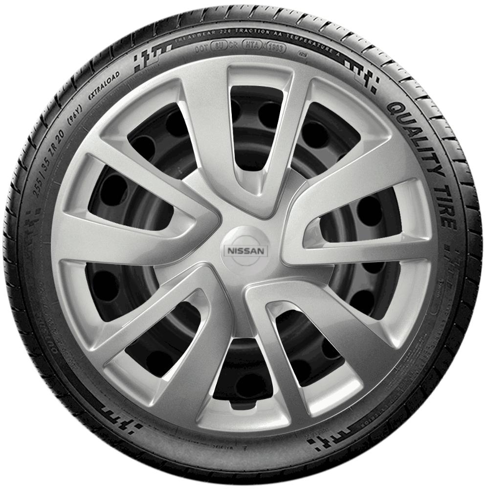 Calota Jogo 4Pçs Nissan March Versa Aro 15 G869J