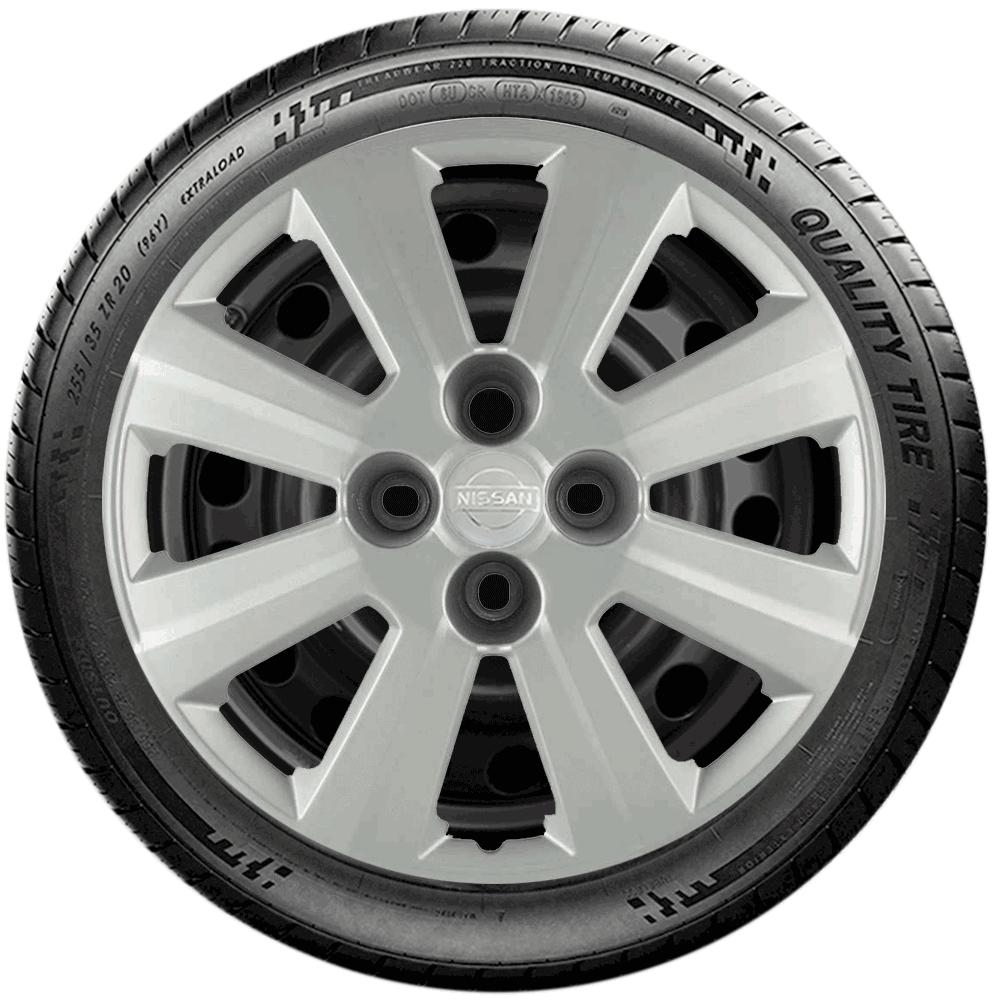 Calota Jogo 4Pçs Nissan March Versa Aro 15 G030J